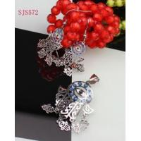 Buy cheap S.Steel Jewelry Set HOT SALE Wholesale Fashion Design Stainless Steel Jewelry Sets from wholesalers