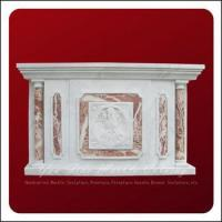 China Main Products Church Used Divine Altar Marble Carved Table on sale