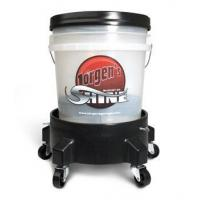 """The Rolling Bucket of Shine  The Only Way to Wash Your Car"""" Manufactures"""