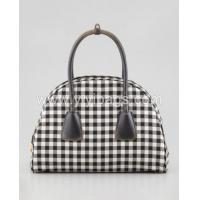 Buy cheap P2341- latest design checkered bag famous brand standard size cotton tote bag from wholesalers