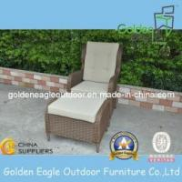 China Outdoor Wicker Patio Bistro Set Chairs & Ottomans Furniture-Fp0156 on sale