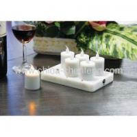 China 6pieces led rechargeable tea lights china suppliers manufacturers on sale