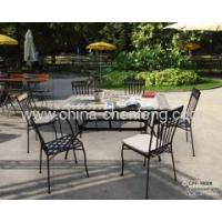 iron mosaic patio furniture dinner sets Manufactures