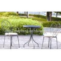 patio furniture bistro sets with cushion Manufactures