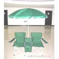 couples folding chairs with umbrella Manufactures