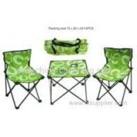 folding camping chair sets china supplier Manufactures