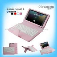 High Ending Detachable Wireless Bluetooth Keyboard for Google Nexus 7 2 Manufactures