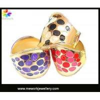 2013 New Round Dots Metal Hinge Made of Zinc Alloy Cuff Bangle Manufactures