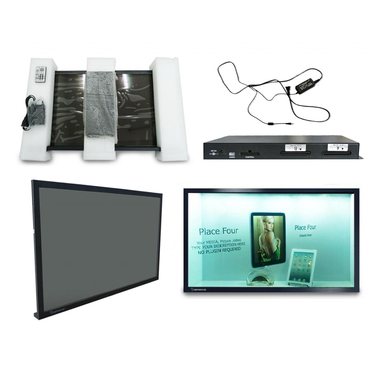 China Transparent 42 inch LCD screen on sale