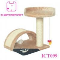 Buy cheap Cat Post Tree Scratcher Furniture Play House Pet Bed Kitten Toy from wholesalers