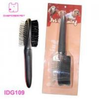 Wooden Handle Combination Dog Brush Manufactures