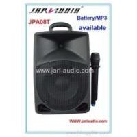 8inch portable battery speakers with MP3 player Manufactures
