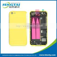 China For iPhone 5C White Complete Full Housing Battery Door Cover With internal parts Yellow on sale