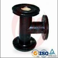 ductile iron tee pipe fitting Manufactures