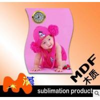 China MDF photo frame with Clock--03 wholesale