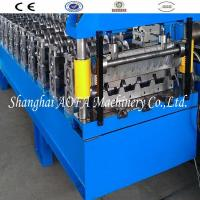 Guide Pillar Trapezoidal Roof Panel Roll Forming Machine Manufactures