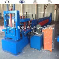 Full Automatic C Lip Channel Purlin Roll Forming Machine for Roof Manufactures
