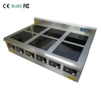 Buy cheap 6 burner countertop commercial induction hob from wholesalers
