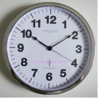 Metal Radio Controlled Wall Clock Manufactures