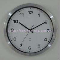 Stainless Steel Radio Controlled Wall Clock Manufactures