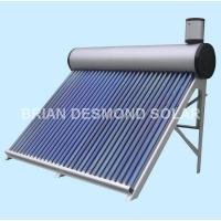 Buy cheap Pre-heated Copper Coil Solar Water Heater from wholesalers