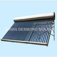 Buy cheap Unpressurized Stainless Steel Solar Hot Water from wholesalers