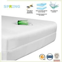 Zippered bed bug mattress and box spring covers - Heavy Duty Zipper around Manufactures
