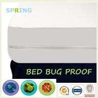 China wholesales King Size zippered vinyl mattress cover on sale