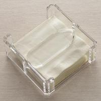 Acrylic Counter Displays Lucite Clear Napkin Holder Manufactures