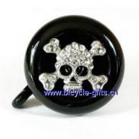 China Products Custom bike bell, bicycle bell with custom logo, American flag bike bell on sale