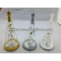 TREE TOP WITH FIGURINE INSIDE WITH LED LIGHT Manufactures