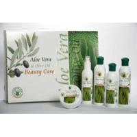 China Natura & Benessere Box 5 pc Aloe Vera & Olive Oil N & B - Home Spa Kit on sale