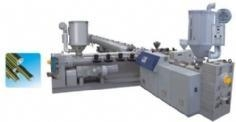 China three-layer co-extrusion PPR -PP pipe production line