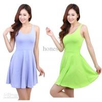 Wholesale - Ladies one-piece dress Candy Color W4021 Manufactures