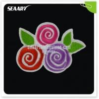 colorful flower embroidery design fashion accessory Manufactures