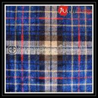 Blue Plaid Yarn Dyed Flannel Fabric Manufactures