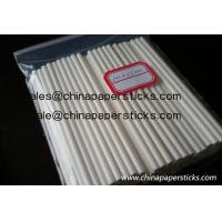 China Paper sticks for lollipop on sale