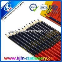 China OEM stationery double side red and blue pencil on sale