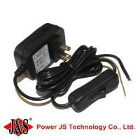 japan plug with ground wire switch on off 24v 0.5a power adapter Manufactures