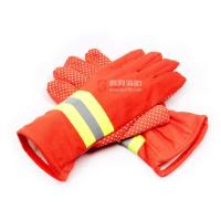 Orange or green fire fighting gloves Manufactures