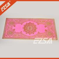 China EZS Cheap PVC Western Round Party Restaurant Table Cloth Coffee Table Cloth on sale