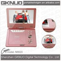 China Portable DVD Player N6620 Pink on sale