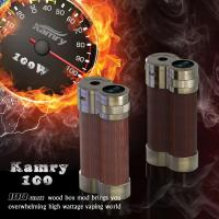 Latest Product Kamry100 Huge wattage Wood mechanical mod for sale Manufactures