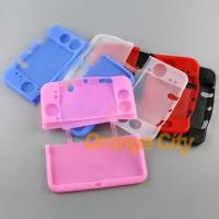 New Soft Silicone Rubber Protective Shell Case For 3DS XL Manufactures