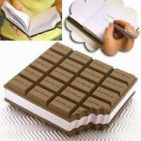 Chocolate note pad Manufactures
