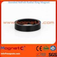 China Radial Ring Permanent Bonded NdFeB Magnet on sale