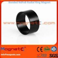 Plastic Bonded NdFeB Magnets Radial Ring Manufactures