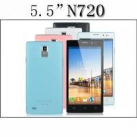 China Android Phone MTK6572 Dual Core N720 Phone ROM 4GB 5.5 Inch Screen Android 4.4 Dual Camera Smartphon on sale