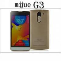 MTK6572 Dual Core Mijue G3 Smartphone Android 4.4.2 Dual Sim 5.0inch Screen Unlocked Phone 3G GPS Manufactures