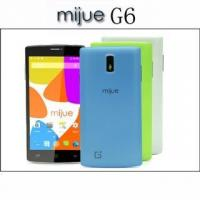 Mijue G6 5.5inch Android Phone Dual Sim Card 4GB ROM Camera 5MP MTK6572 Dual Core Smartphones 3G GPS Manufactures